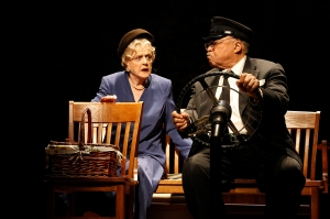 Angela Lansbury & James Earl Jones in DRIVING MISS DAISY (c) Jeff Busby
