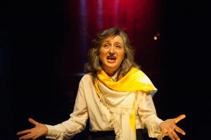 Eugenia Fragos as Nehrjas al Saffarh - Photo credit Sarah Walker