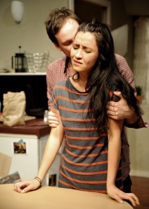 Paul Ashcroft and Christina O'Neill in BELLEVILLE Photo Credit Jodie Hutchinson
