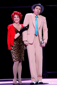 Chelsea Plumley and Adam Murphy in Guys and Dolls