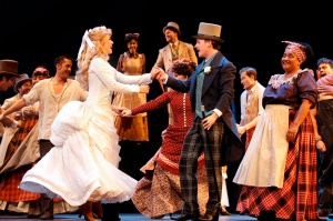 Showboat - Alinta Chidzey and Gareth Keegan
