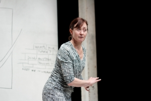 Caroline Lee in Waking Up Dead_Photo Credit – Andy Turner