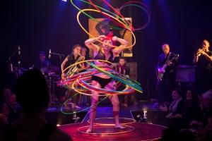 Circus Oz_Close to the Bone_Credit –Rob Blackburn_Caption – Lilikoi Kaos and Circus Oz band