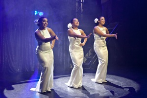 Zenya Carmellotti, Anna Francesca Armenia and Sharon Wills in Dream Girls