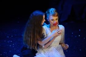Dracula - Amanda McGregor and Zoe Boeson -photo by Sarah Walker
