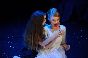 Dracula - Amanda McGregor and Zoe Boeson -photo by Sarah Walker