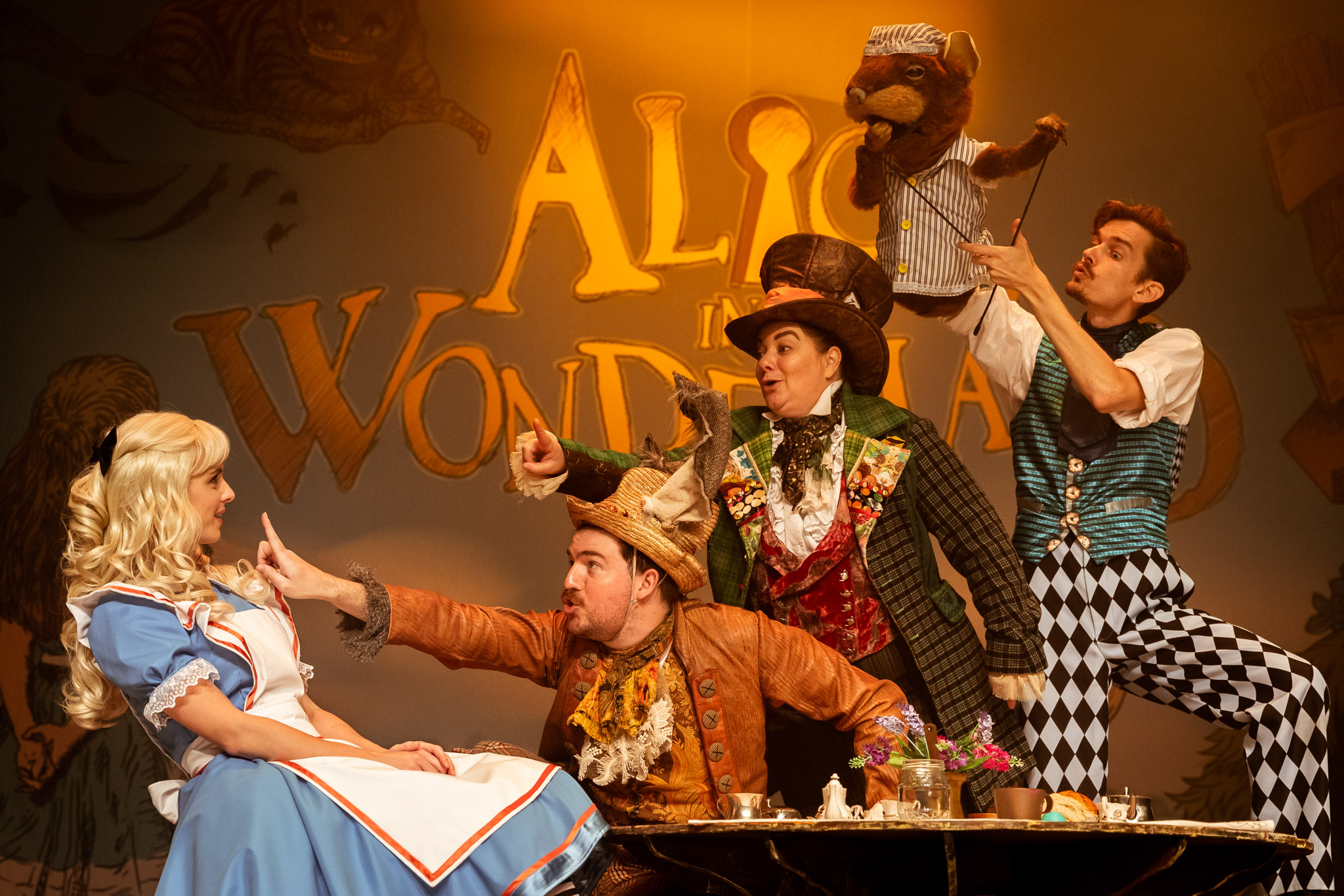 Boyd Productions presents Alice in Wonderland