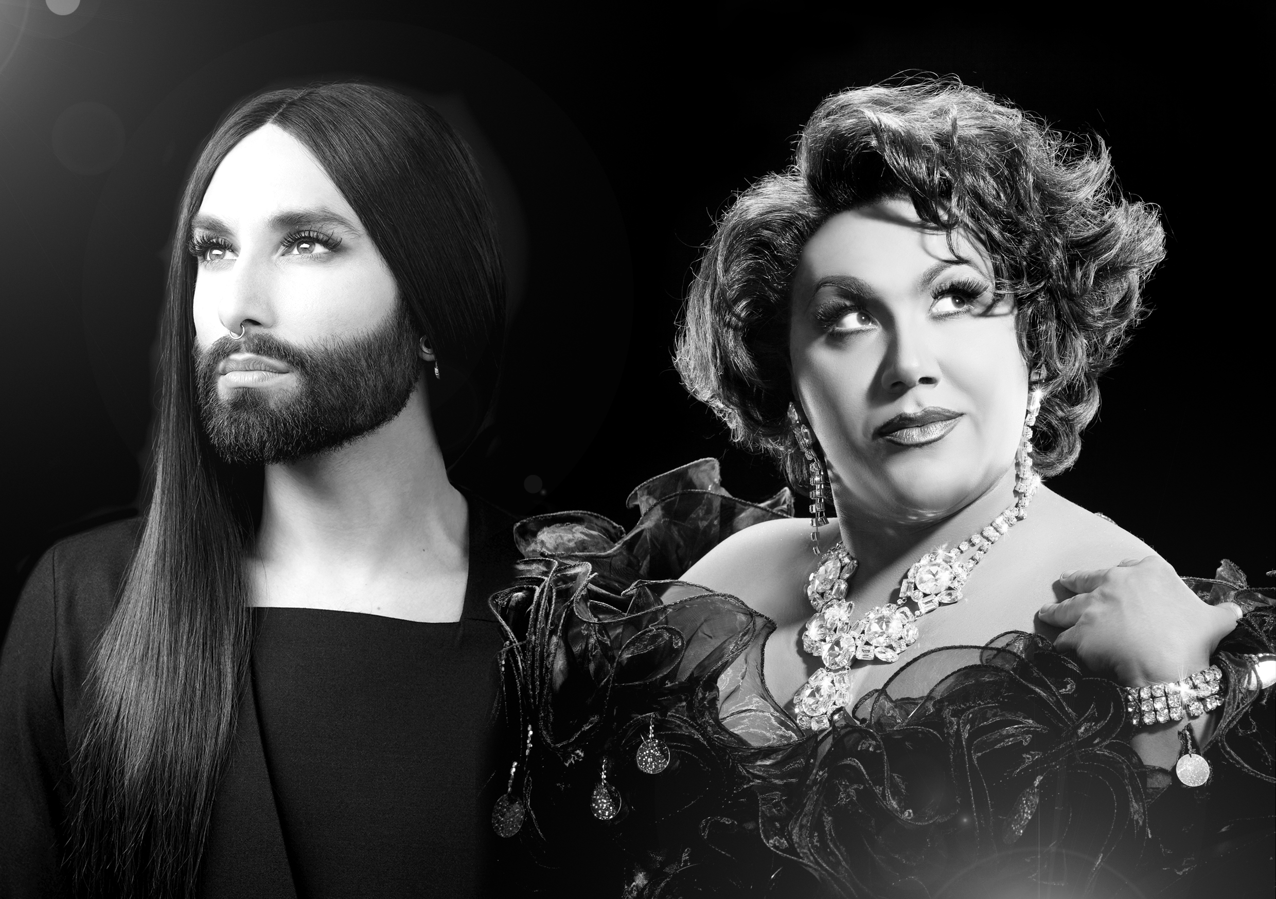 Review: Conchita Wurst & Trevor Ashley with Kate Miller-Heidke
